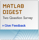 Two-Question Survey on MATLAB Digest