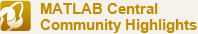 MATLAB Central Community Highlights
